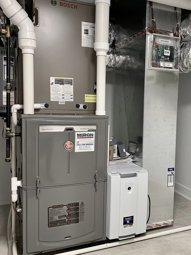 air conditioning installation chicago by miron