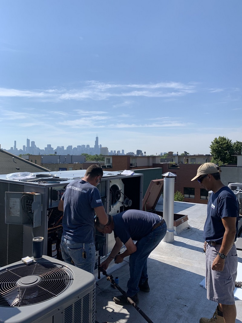 air conditioning repair chicago by miron contractors